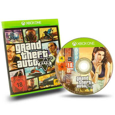 Xbox One Spiel Grand Theft Auto V Gta 5 / Five Usk 18 in Ovp