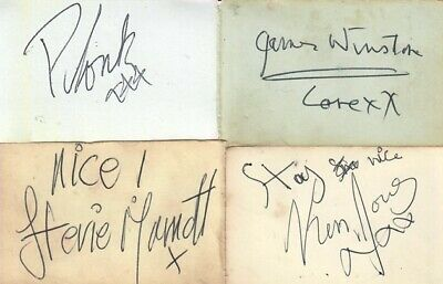 Small Faces (1965) Signed Autographs