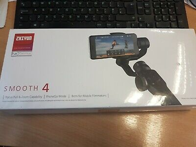 Zhiyun Smooth 4 3-Axis Handheld Gimbal Stabilizer for iPhone Samsung with Tripod