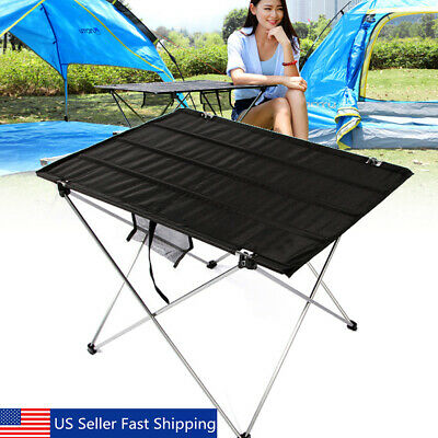 22'' Folding Table Portable Plastic Indoor Outdoor BBQ Picnic Party Camp Table