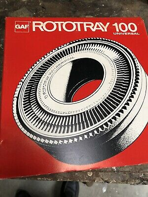 GAF ROTOTRAY 100 SLIDE CAROUSEL - Limited Quantity - 5 Only left.