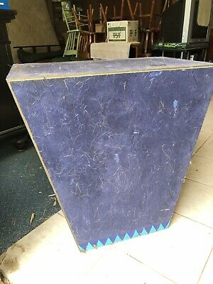 Wedge Shaped Occassional Table