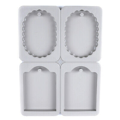 diy silicone molds candles aroma wax tablets mould car pendant decorat~GN
