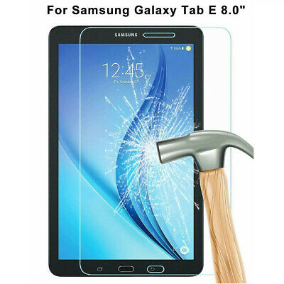 """Premium Real Tempered Glass Screen Protector for Samsung Galaxy Tab E 8.0"""" T377T"""