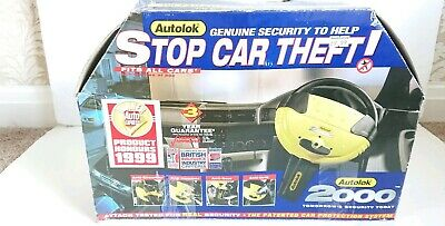 Autolok 2000 Steering Wheel Lock Car Vehicle Auto Security With Two Keys