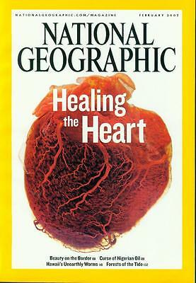 National Geographic February 2007 - Healing the heart