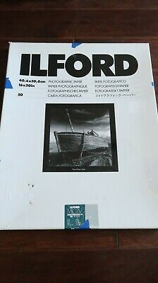 "Ilford 16 x 20"" Multigrade IV RC Deluxe B&W Paper, Pearl Surface, 50 Sheets"