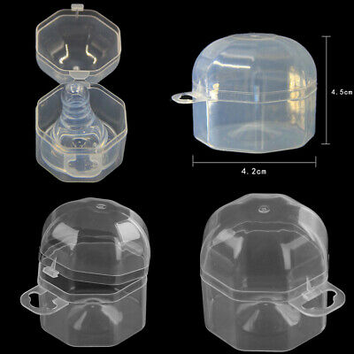 Baby infant pacifier storage box baby soother pacifier nipple container case ~GN