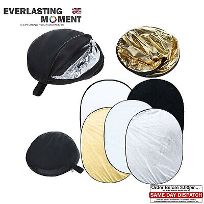 Photo Photography 100 x 150cm 5 in 1 Collapsible Multi Light Reflector Studio