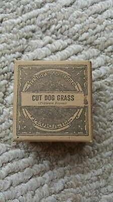 Allaire Woodward Co. 1900's Medicinal Herb Box Cut Dog Grass