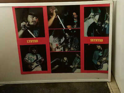 Lynyrd Skynyrd Poster Rare New Never Opened Late 1980'S