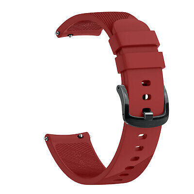 20mm Soft Silicone Strap Watch Band For Garmin Forerunner 645/Vivoactive 3 Music