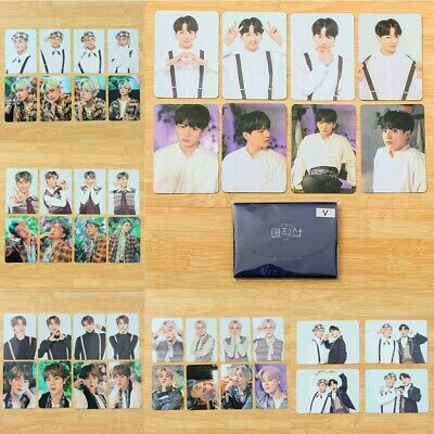 8pcs/set Kpop 5th Muster 2019 MINI Photocards Collective Lomo Card SUGA JIN