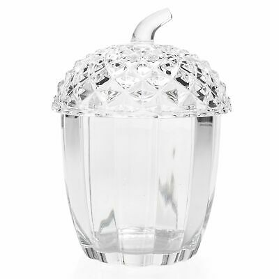 """Marquis by Waterford 7"""" Acorn Crystal Box"""
