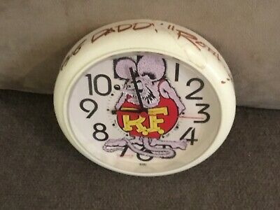 Ed big Daddy Roth Signed Autographed Clock