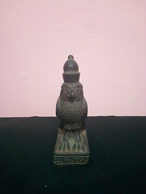 RARE ANTIQUE ANCIENT EGYPTIAN Statue Horus Bird Falcon God Sky 2400–2300 Bc
