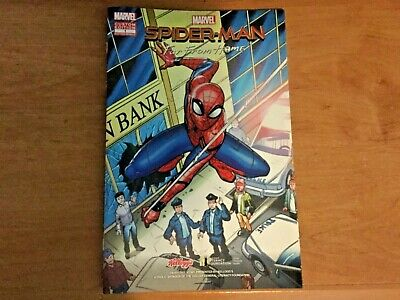 Spiderman Far From Home Dollar General Exclusive Comic Book Spider-Man Kellogg/'s