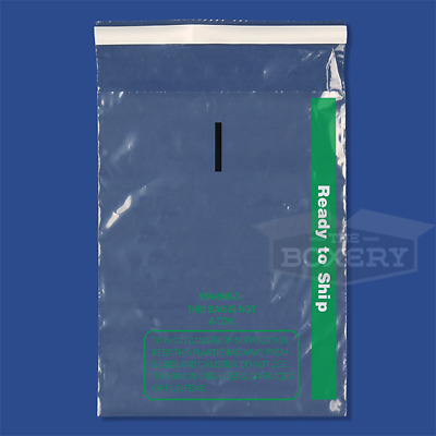 500 11x14 Self Seal Suffocation Warning Clear Poly Bags 1.5 mil Free Shipping