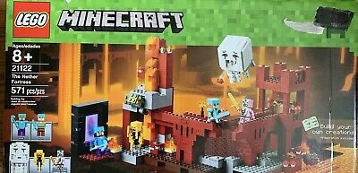 LEGO MINECRAFT 21122 The Nether Fortress Ghast Steve Alex