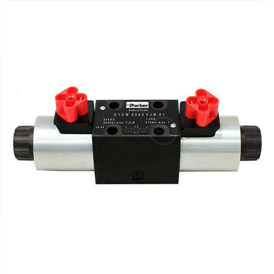 H● PARKER D1VW004CNJW91 Hydraulic Directional Control Valve.
