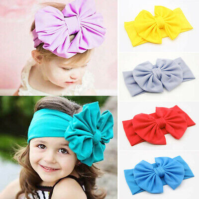 Baby Girl Sweet Candy Hair Accessories Children Bow Knot Retro Baby Headband