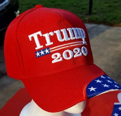 Trump 2020 Red USA Hat