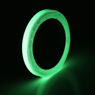 Glow in the dark luminous fluorescent night self-adhesive safety sticker tape~GN