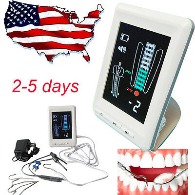 """4.5"""" LCD Dental Apex Locator Root Canal Finder Endodontic Super Clear Display US"""