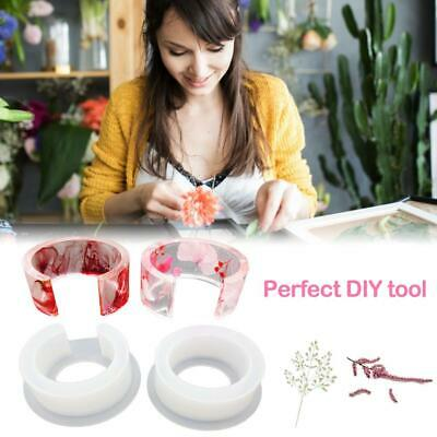 DIY Jewelry Tool Round Silicone Mold Casting Mould For Resin Bracelet Bangle