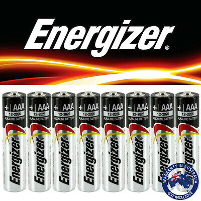 24 X New Genuine Energizer Alkaline Duracell AA AAA Batteries 2027 expiry