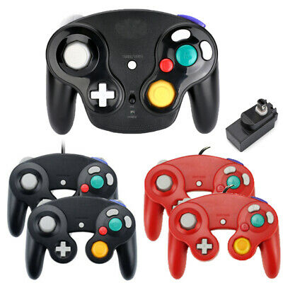 1/2Pack Wireless Wired NGC Controller Gamepad for GameCube NGC GC & Wii Console