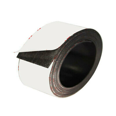 Self Adhesive Magnetic Tape Flexible Craft Sticky Magnet Strip 2m Magnetic Strip