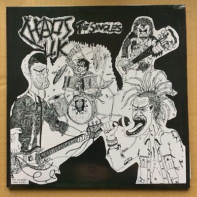 CHAOS U.K. - TOTAL CHAOS - THE SINGLES  (brand new still sealed LP) - RRS40