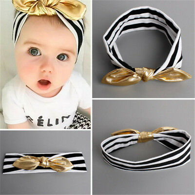Toddler Girls Baby Kids Big Bow Infant Headband~GN