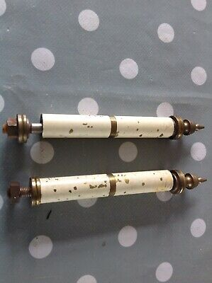 Antique Columns Quality Painted Brass Finials Clockmakers Spare Parts Collection