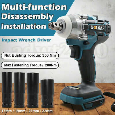 Replace Makita 18V 350N Li-Ion Cordless 1/2'' Impact Wrench Driver DTW285Z- Body