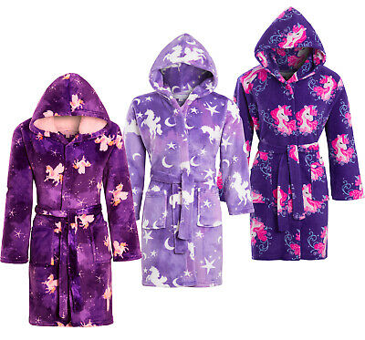 Girls Childrens Soft & Cosy Dressing gown Twosie Pyjamas Age 5-13 yrs