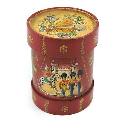Vintage STE.CROIX Swiss Reuge Musical Box - Hand Painted for Children