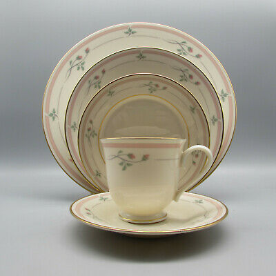 20pc SET - Lenox China ROSE MANOR Service for Four