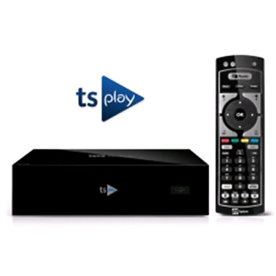 Digitale Terrestre Telesytem Ts Play 2.0 Ip Box Wifi +Tlc Ir Media Player