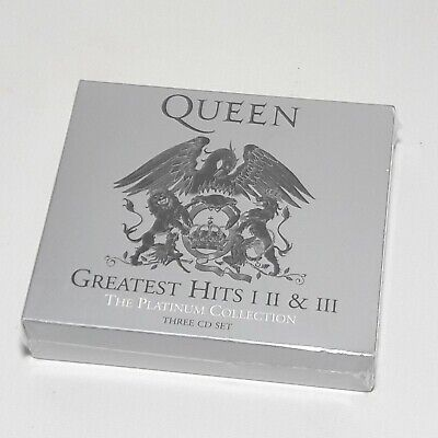 Queen Greatest Hits 1 2 3 Platinum Collection Brand New Sealed
