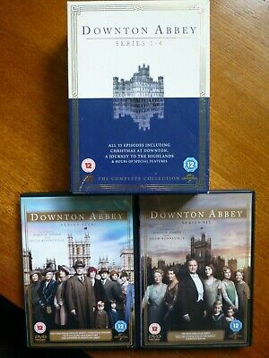 Downton Abbey DVD, Complete Series 1-6