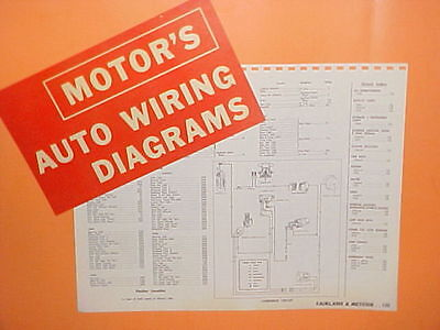 1962 1963 1964 1965 Ford Fairlane 500 Mercury Meteor Custom Wiring Diagrams