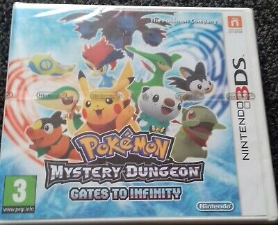 Pokemon Mystery Dungeon: Gates to Infinity (Nintendo 3DS, 2013) BRAND NEW SEALED