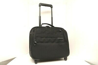 Briggs & Riley @Work Wheeled Rolling Laptop Computer Luggage Bag Case carry on