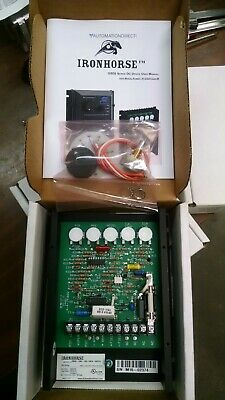Automation Direct Ironhorse DC Drive GSD5-240-10C wit Potentiometer 120/240V New