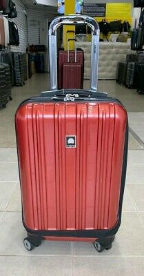 """Delsey Luggage 21"""" Helium Aero International Carry On Expandable Spinner Trolley"""