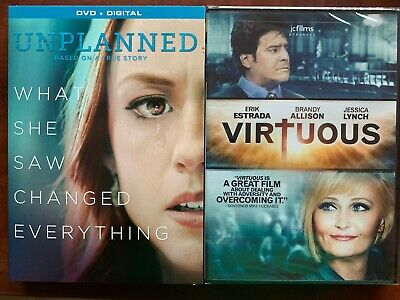 Unplanned DVD New with slip cover Free Ship Virtuous Erik Estrada