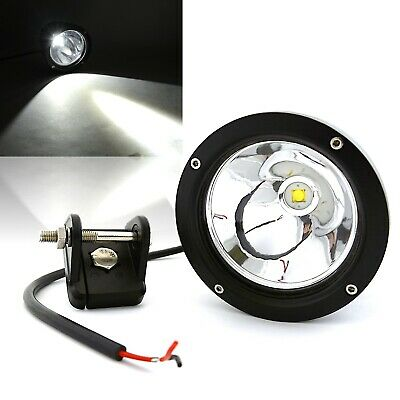 """Xprite 4/"""" 21W LED Spot  Light  Round Work with Guard Cover For UTV RZR ATV JEEP"""