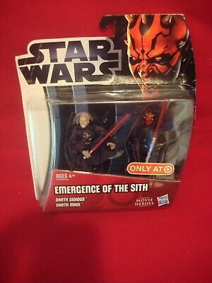 Star Wars Movie Heroes - Emergence of the Sith - Darth Sidious & Darth Maul